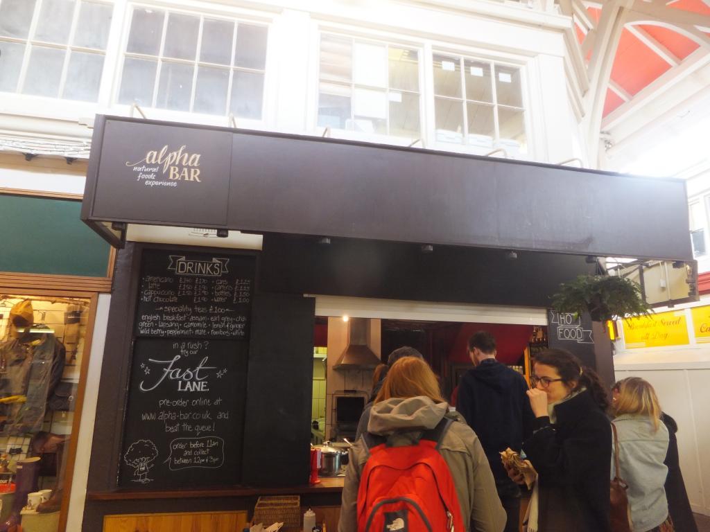 Alpha Bar Oxford