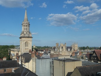 The Varsity Club Oxford - Rooftop View2