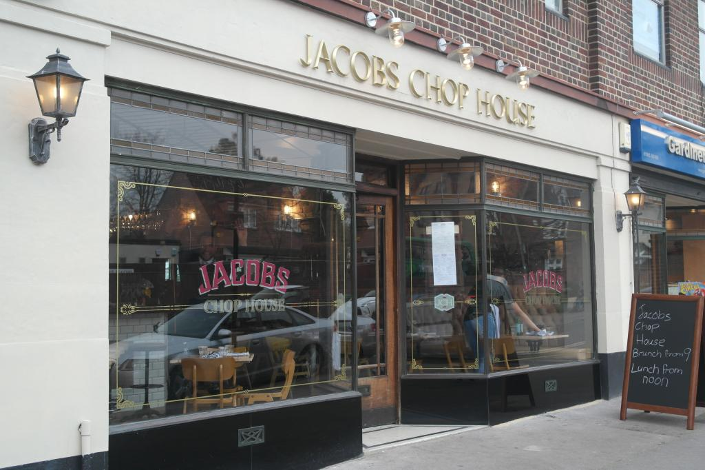 Jacobs Chop House in Oxford