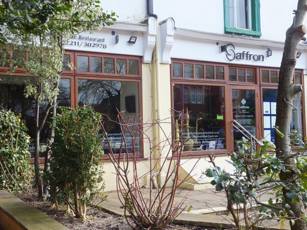Saffron in Oxford