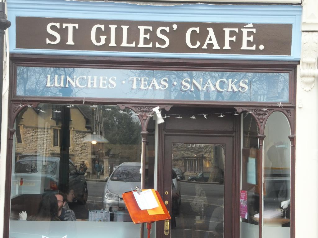 St Giles Cafe in Oxford