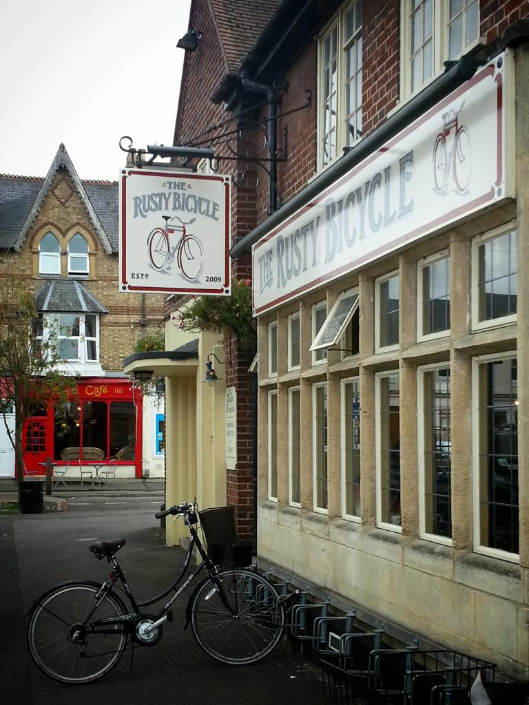 The Rusty Bicycle in Oxford