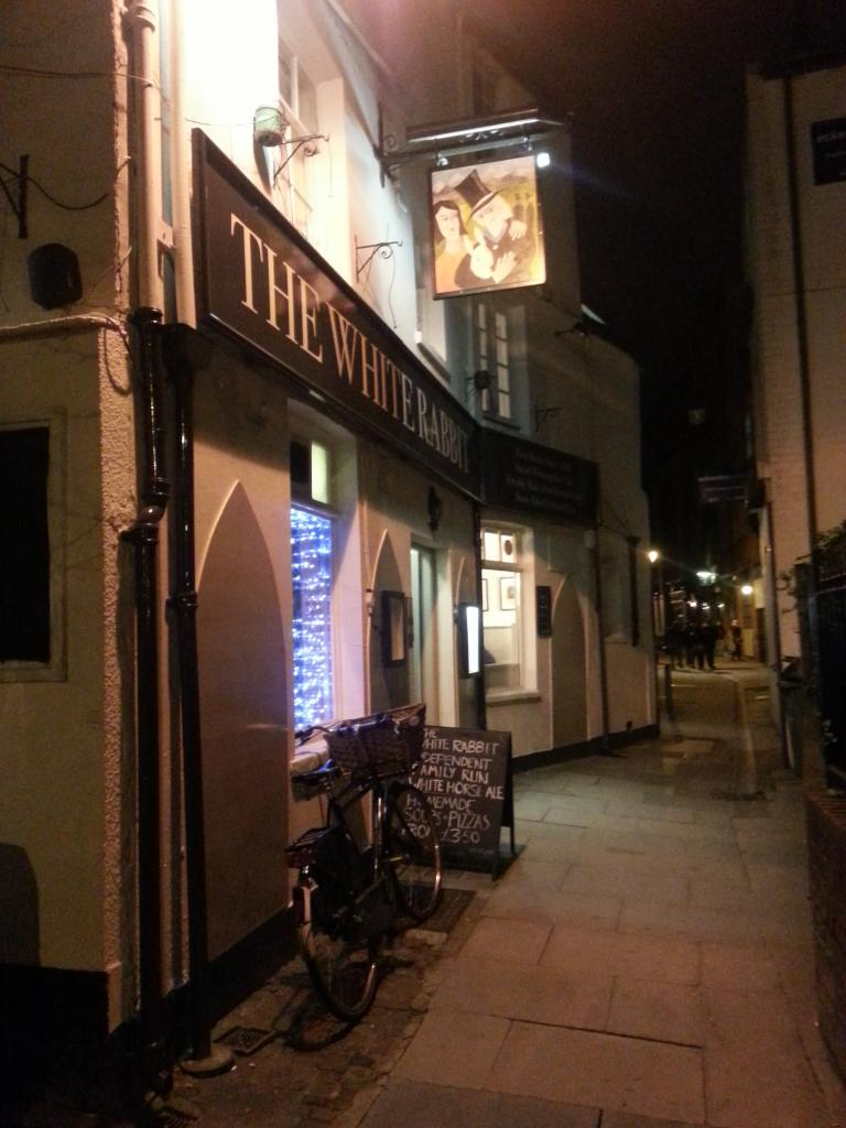The White Rabbit in Oxford