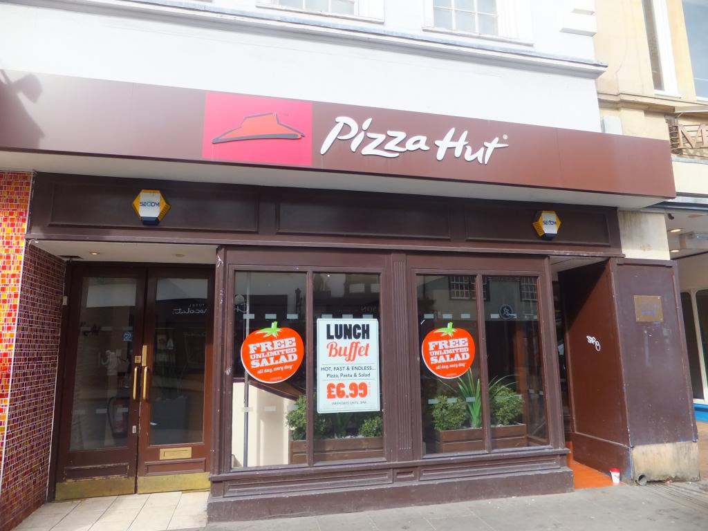 Pizza Hut High Street Oxford Bitten Oxford