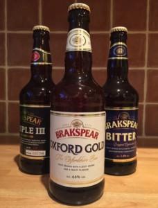 Brakspear Brewer beer bottles
