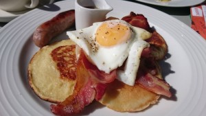 Oxfork Egg Bacon Pancakes