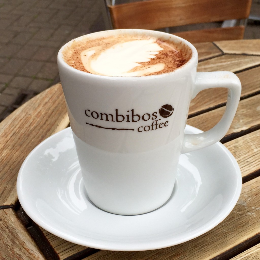 The Perfect Chai Latte at Combibos Coffee Oxford
