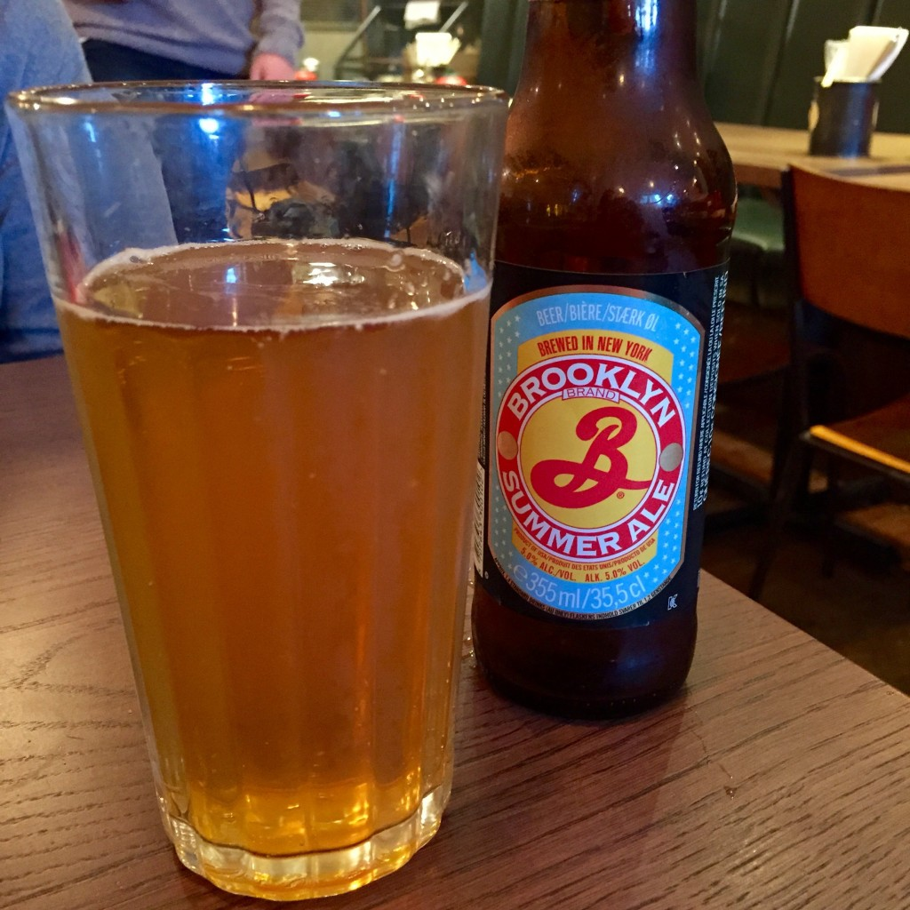 Gourmet Burger Kitchen - Brooklyn Summer Ale