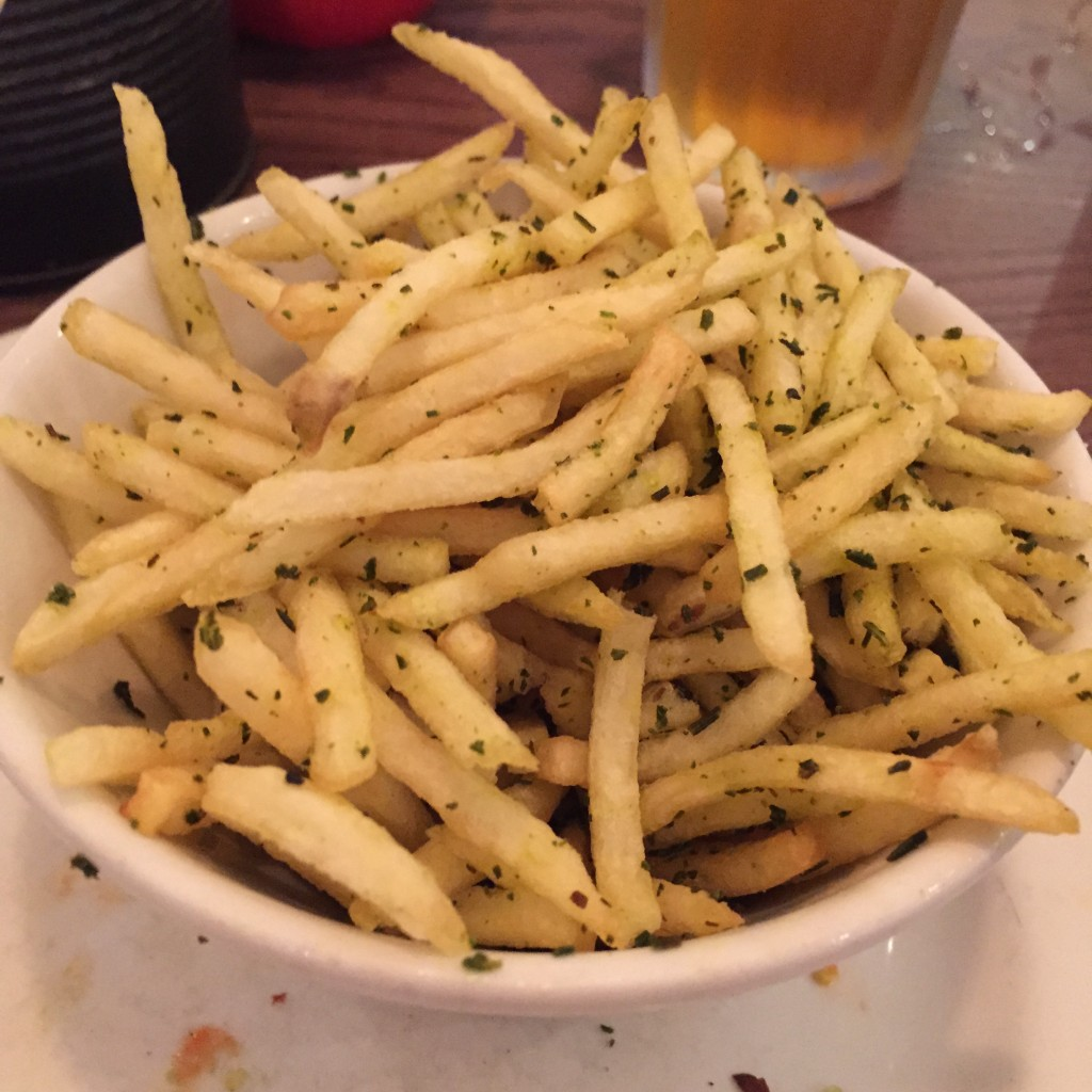 Gourmet Burger Kitchen Oxford - Skinny Rosemary Fries