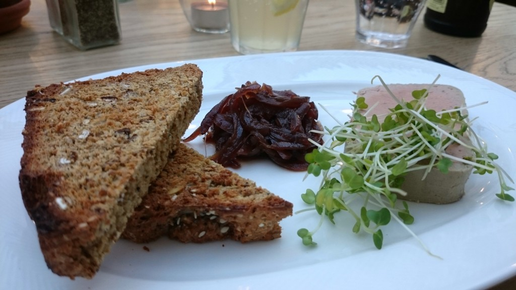 The Perch chicken liver parfait