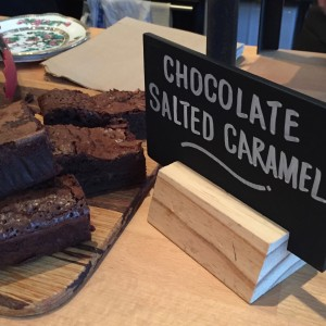 Barefoot Oxford - Chocolate Salted Caramel Brownies