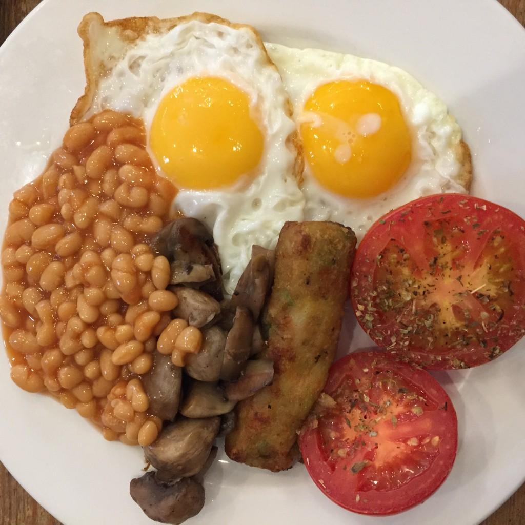 The Jericho Cafe - Vegetarian Breakfast