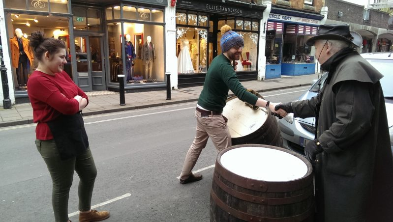 160426-Demijohn-Rolling out the Barrel in Little Clarendon Street-5