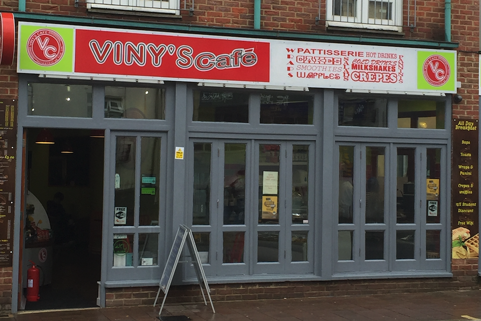 Vinys Cafe Cowley Road Oxford