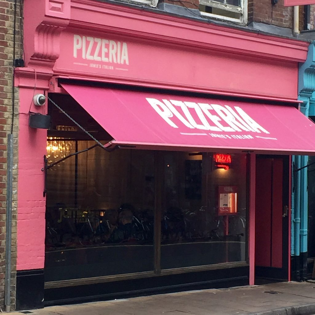 Jamies Pizzeria - Exterior