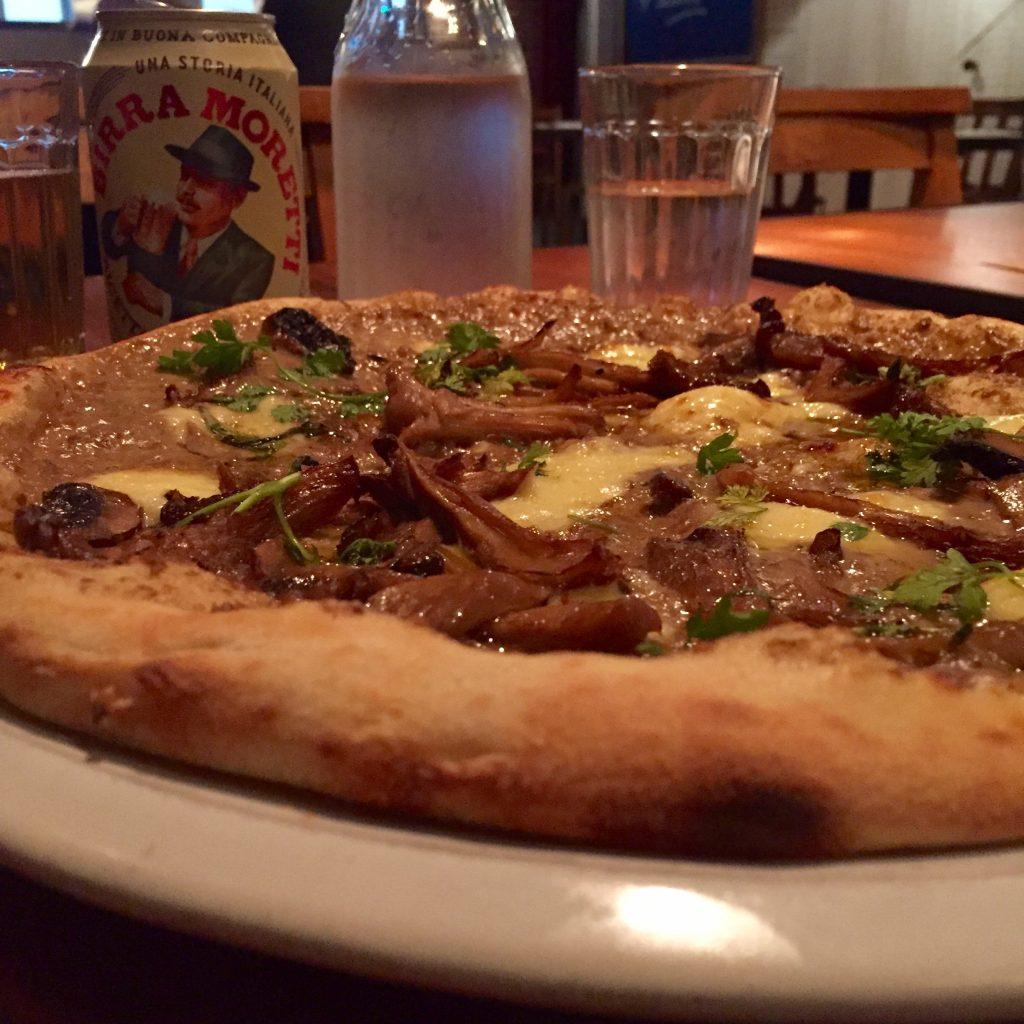 Pizza at Jamies Pizzeria