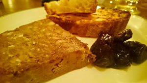 Pork and Venison Terrine with Pickled Pruned & Toast