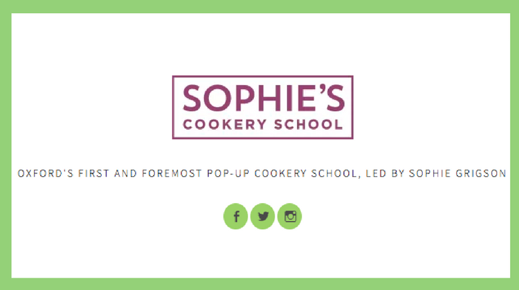 Sophie's Cookery School