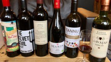 Vine Oxford wine testing
