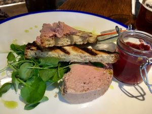 Fox Inn Boars Hill Chicken Liver Pate