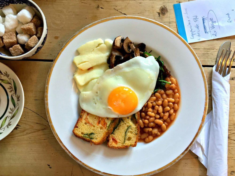 Silvie Oxford Veggie Breakfast