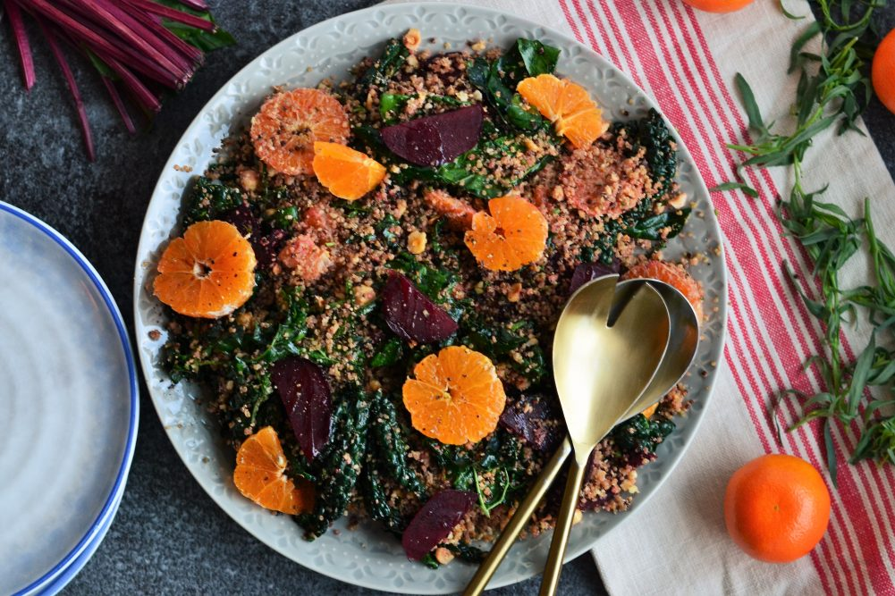 Recipe: Beetroot, Tangerine, and Kale Salad