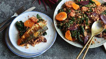 Recipe: Beetroot, Tangerine, and Kale Salad