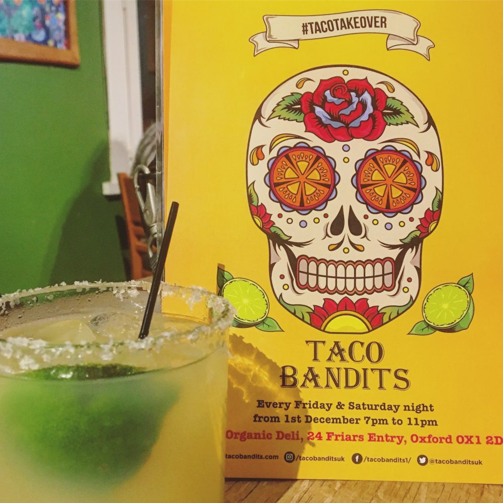 Taco Bandits at Organic Deli Cafe