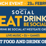 Competition: Win Free Food & Drink at Westgate Social Tomorrow