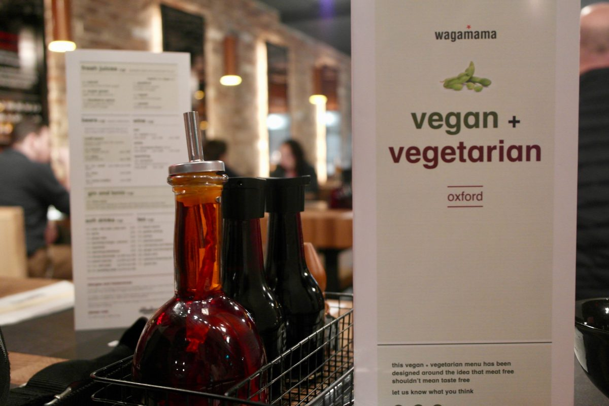 Wagamama Oxford reopens with new 'vegatsu' vegan curry