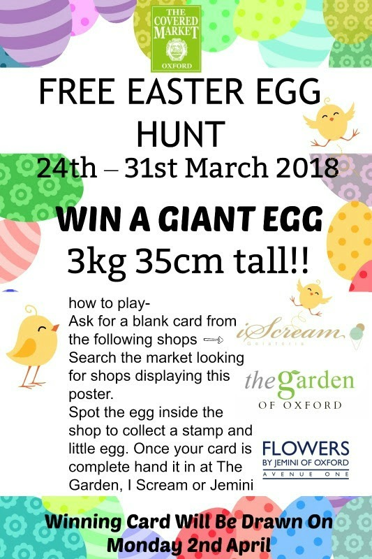 Covered Market Easter Egg Hunt