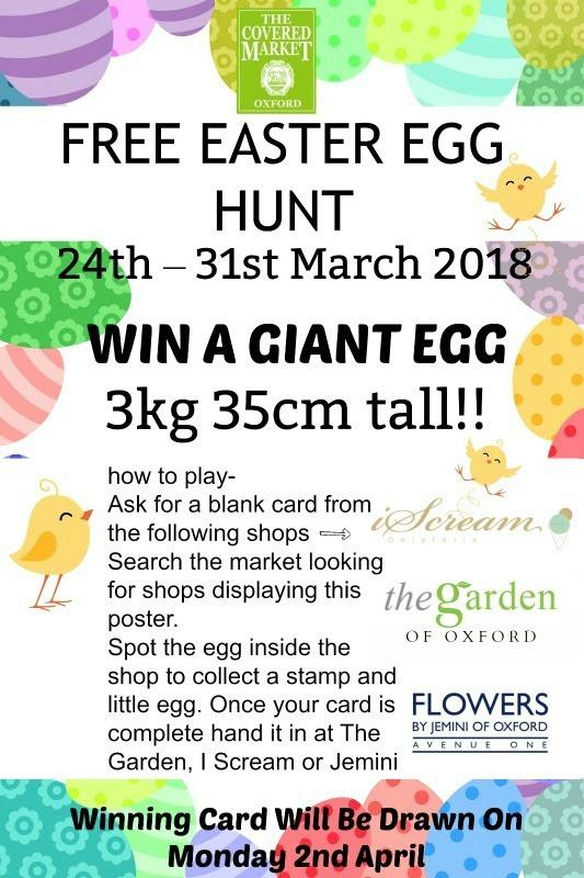 Covered Market Easter Egg Hunt