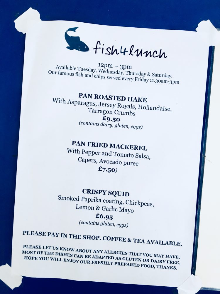 Osney Food Shed Menu | Image Credit Bitten Oxford