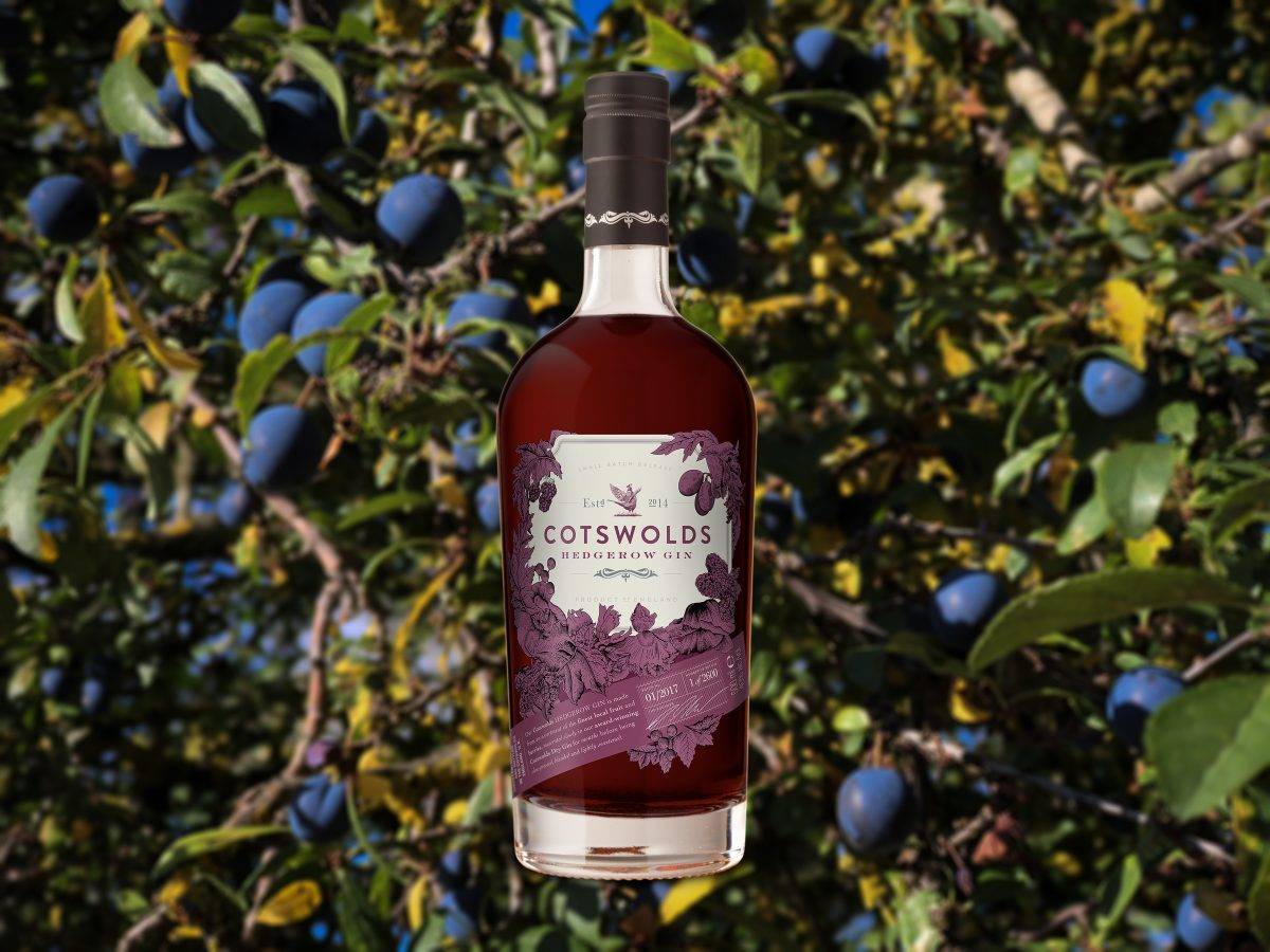 2018 Cotswold Distillery hedgerow gin