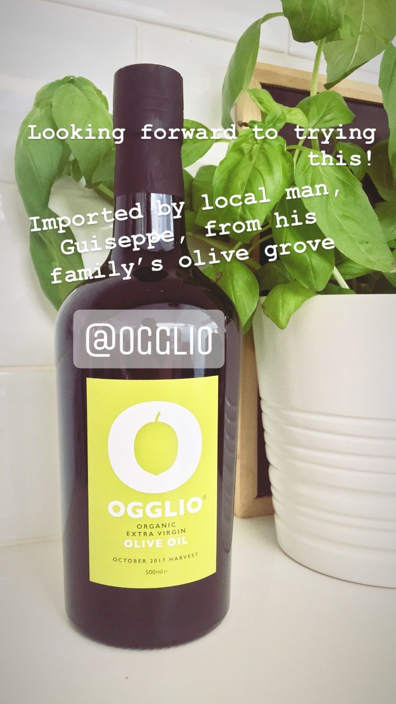 Ogglio Olive Oil | Bitten Oxford