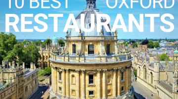 Ten Best Oxford Restaurants