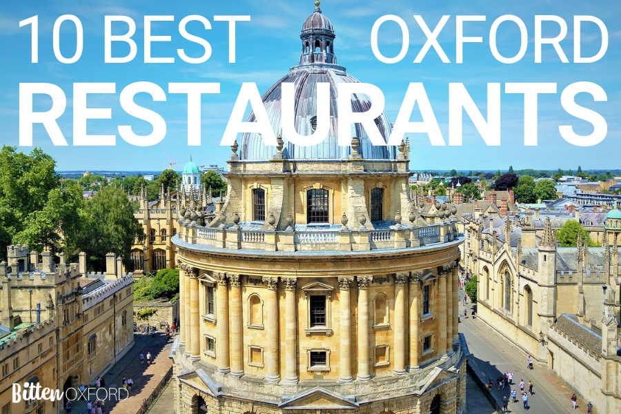 Ten Best Oxford Restaurants