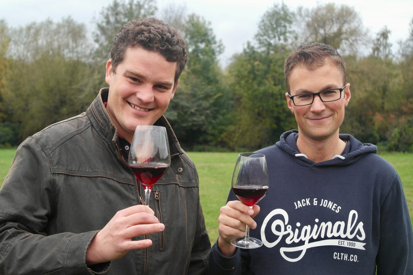 Michael Jelley and Graeme Woodward, Grape Minds Oxford | Image Credit Bitten Oxford