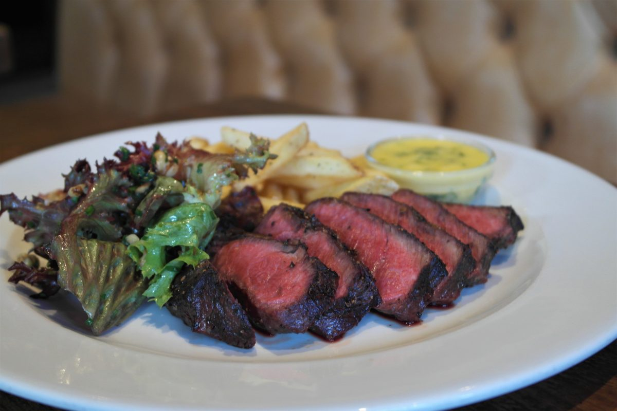 The Porterhouse Grill & Rooms Oxford, Steak Frites | Image: Bitten Oxford