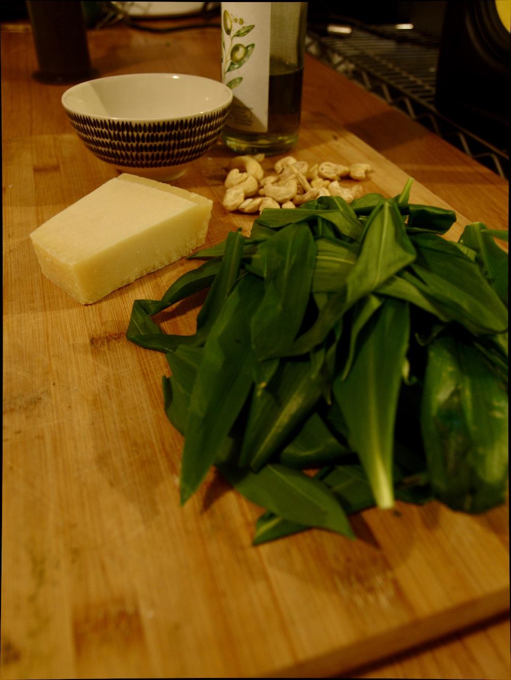 Recipe Wild Garlic Pesto