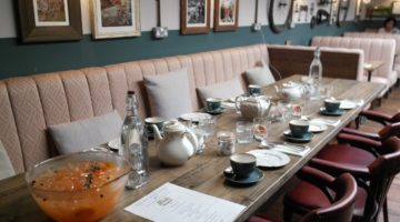 Afternoon Tea at The Bicycle Shed