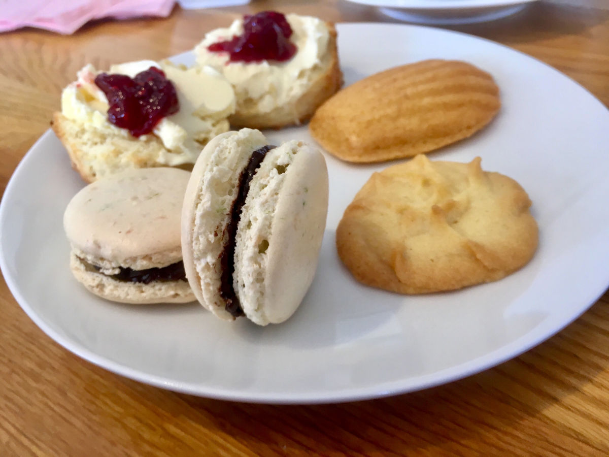 afternoon tea class at Rachel's Apron