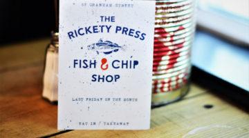 Fish & Chip Night at The Rickety Press