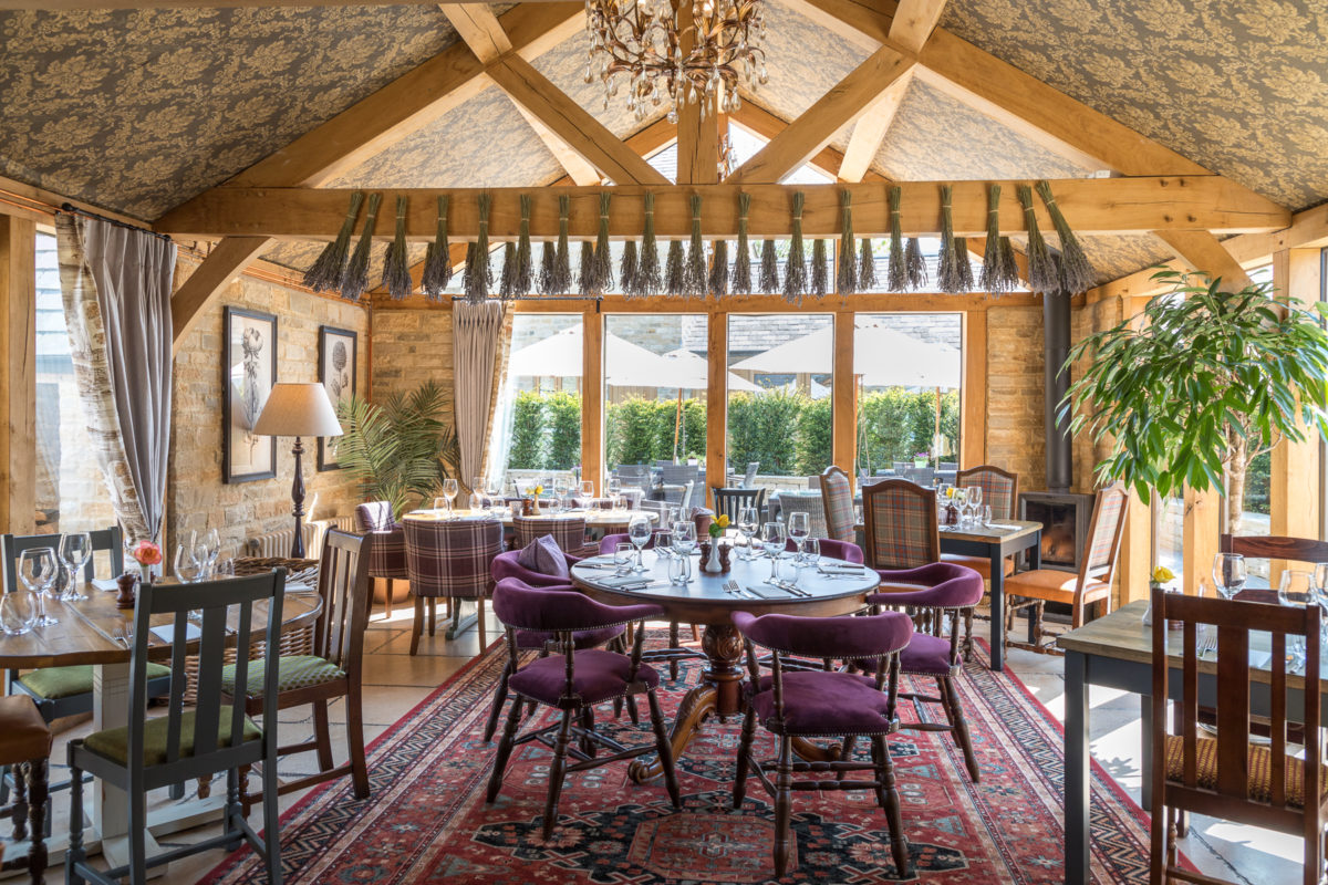 The Lion Wendlebury restaurant