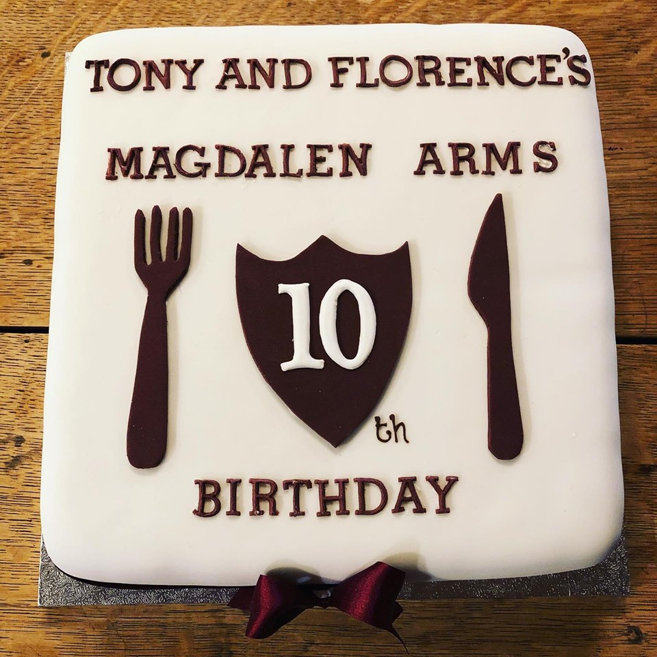 Magdalen Arms Tenth Birthday