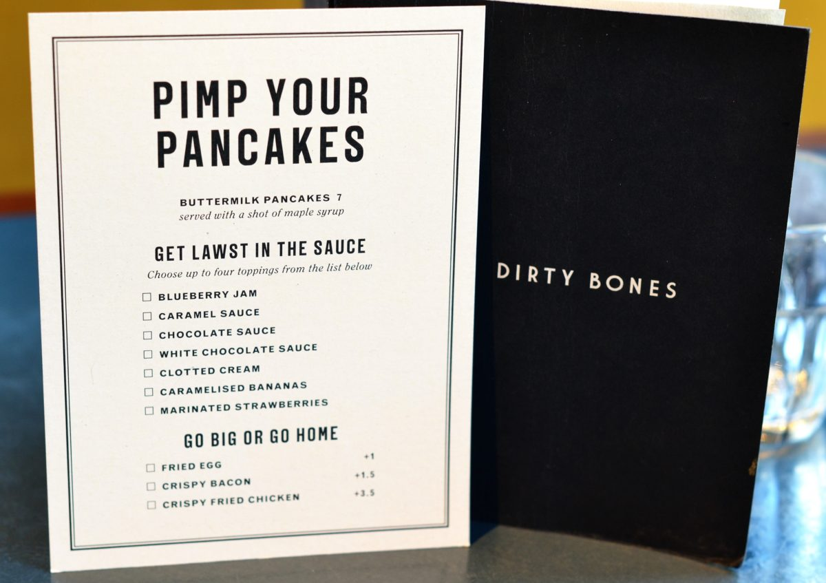 Dirty Bones Oxford Pancake Day