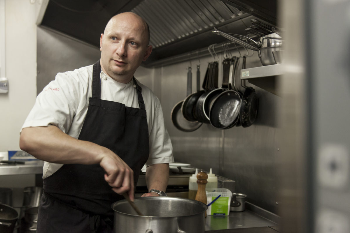 Matthew Weedon, Head Chef at The Feathered Nest Country Inn in Nether Westcote, Oxfordshire