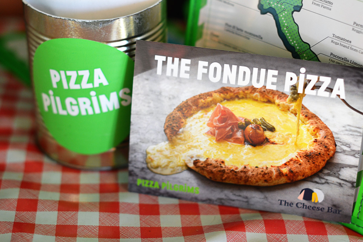 Pizza Pilgrims at Westgate Oxford - Fondue Pizza